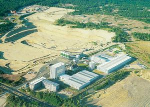 Our factory in Dresden in the year 2000